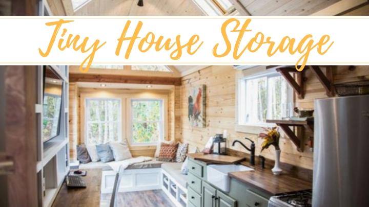 Alternative Living : Tiny House StorageSolutions