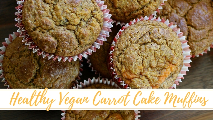 Healthy Vegan Treats : Carrot CakeMuffins
